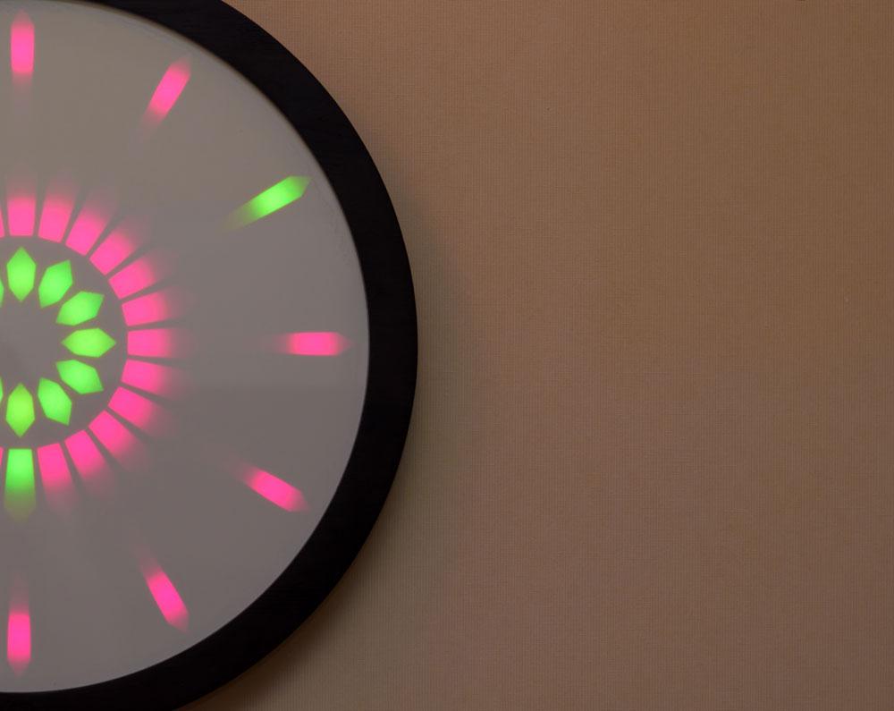 Вариант исполнения дисплея часов
